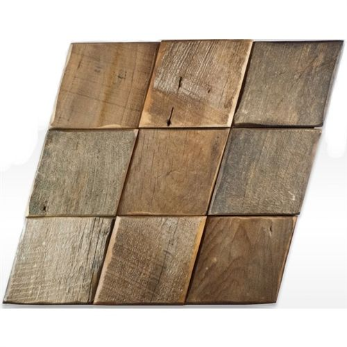 Reclaimed Wood Tile | Canyon | Natural