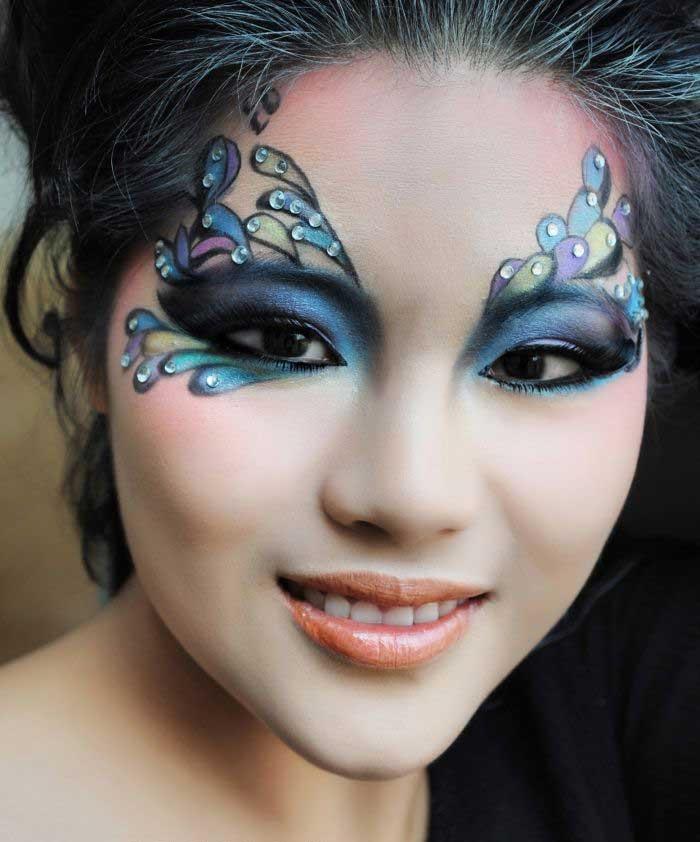 макияж феи картинки птицами