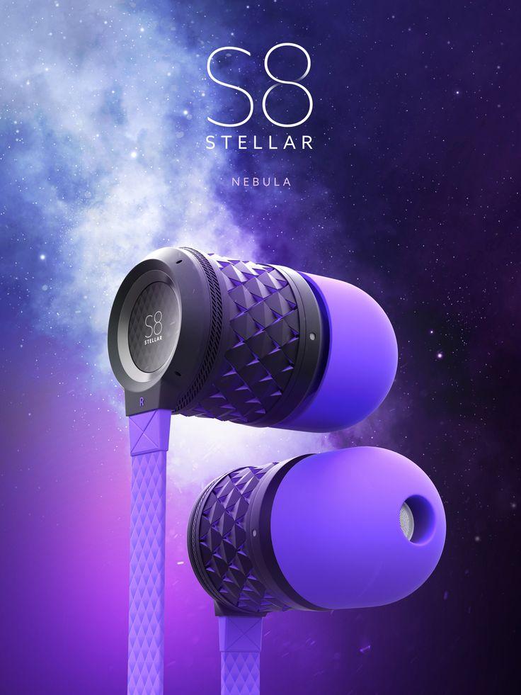 S8 Stellar - Earbuds by Weaver Anton