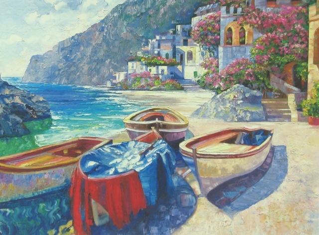 """Capri Boats,"" by Howard Behrens"