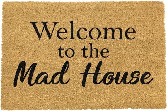 Door Mat Welcome Home Brown 60x40cm E.T