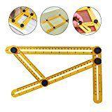 #7: WEBSUN Multi Angle Measuring Ruler General Angle Finder Angleizer Template Ruler Layout Tools Angle Measurement Ruler for Craftsmen Builders Carpenters
