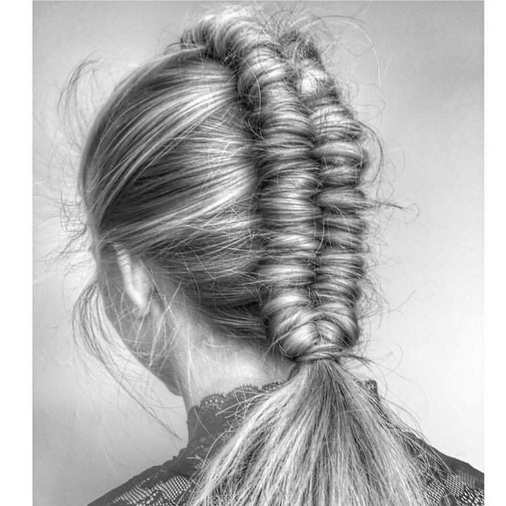 """3,162 Likes, 19 Comments - BRAIDS   UPDOS   INSPIRATION (@beyondtheponytail) on Instagram: """"My OBSESSION with the INFINITY BRAID continues! love this from @nicciwelsh @nicciwelsh ✨…"""""""