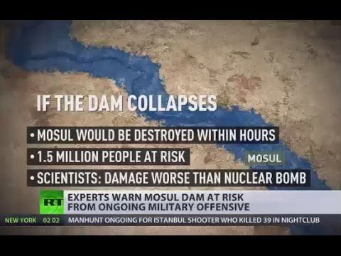 Worse than ISIS & nuclear bomb? Mosul dam at risk from ongoing military ...