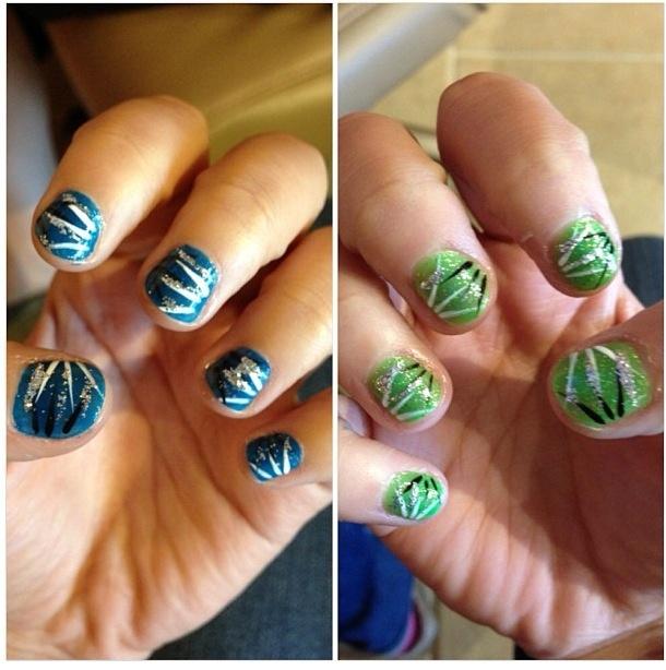 47 Best Blue/Green Nail Art Images On Pinterest