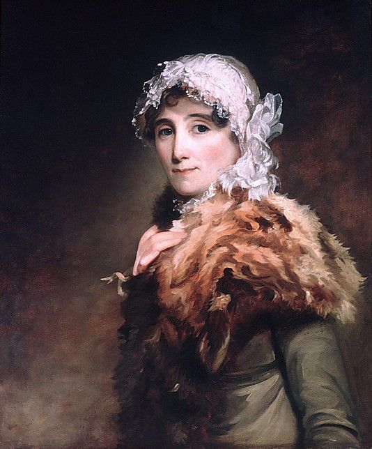 """Mrs. Katherine Matthews"" by Thomas Sully (1812-1813) at the Metropolitan Museum of Art, New York"