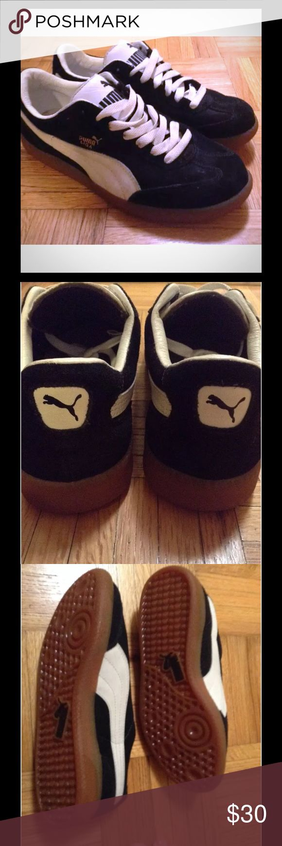 PUMA LIGA Size 4.5Y PUMA LIGA Size 4.5Y (also fits women approximately size 6-6.5) Excellent condition. Orig $80 Puma Shoes Sneakers