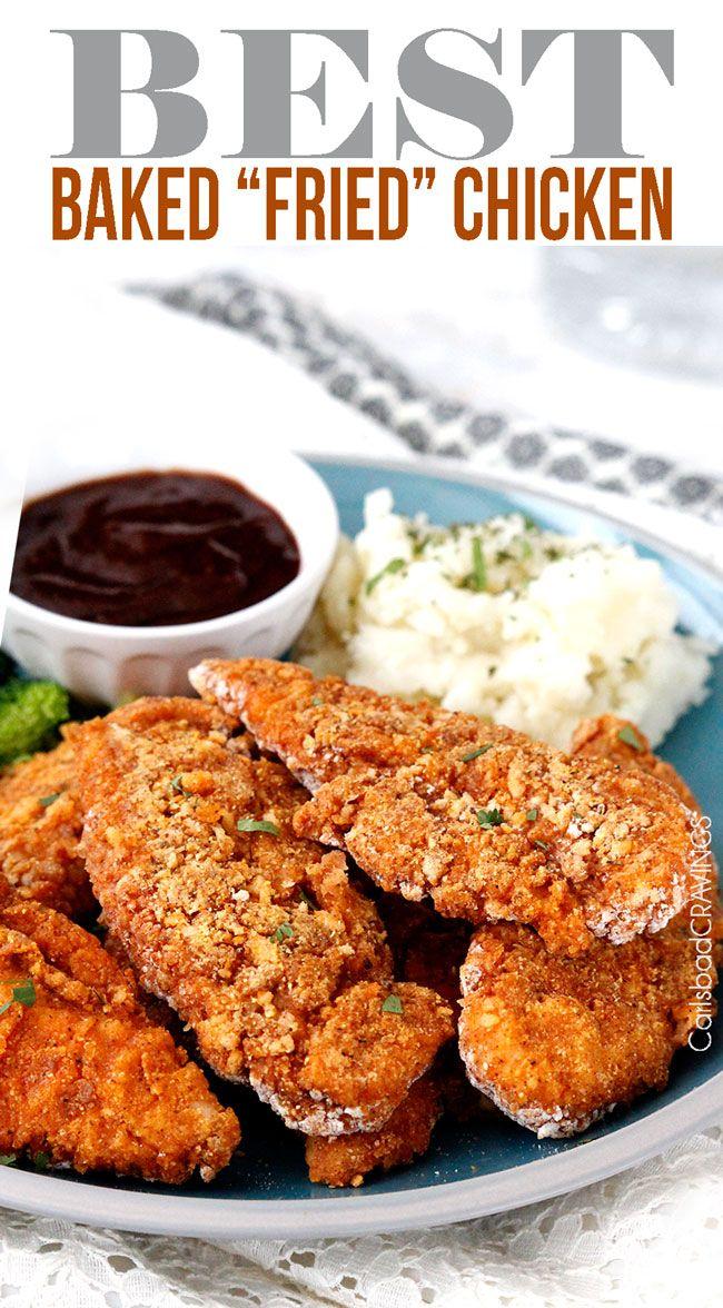 best-baked-fried-chicken-main3: Crispy Chicken Recipe, Chicken ...