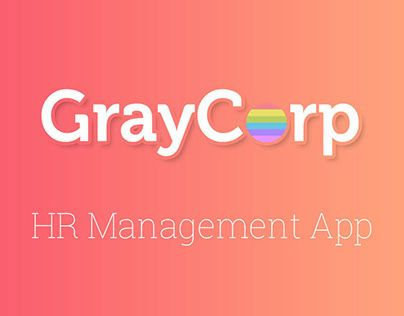 "Check out new work on my @Behance portfolio: ""GrayCorp App "" http://be.net/gallery/33321457/GrayCorp-App-"