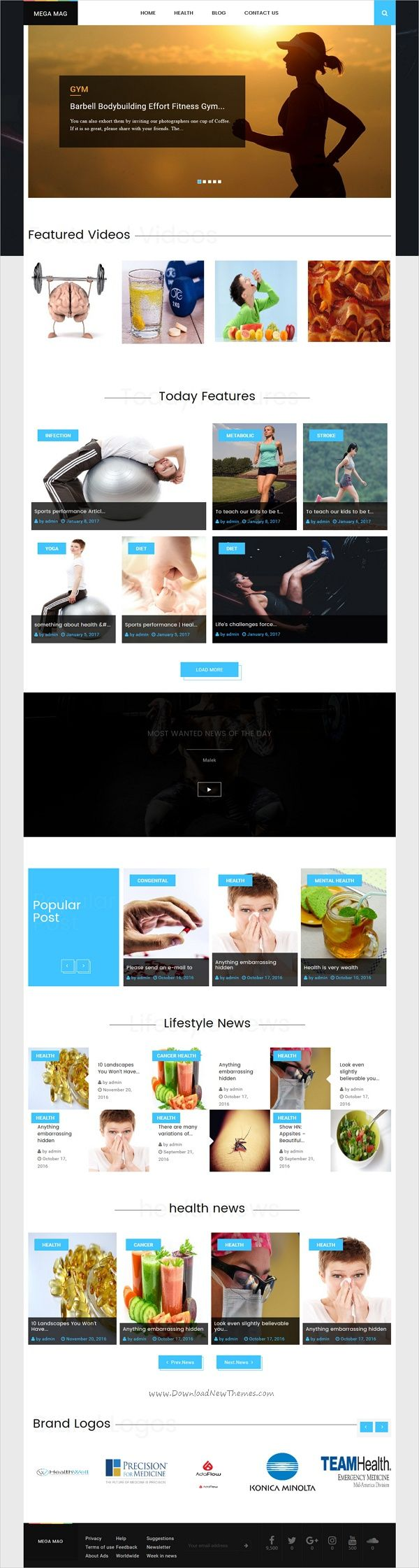 MegaMag is beautifully design #responsive viral content #WordPress theme for News, #Magazine, blog, publishing and review websites with live cricket score and weather widget download now➩ https://themeforest.net/item/megamag-news-newspaper-magazine-blog-viral-content-and-review-wordpress-theme/18734760?ref=Datasata