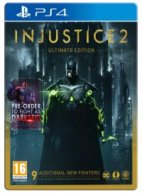 Injustice 2 Ultimate Edition PS4 with 9 DLC Fighters