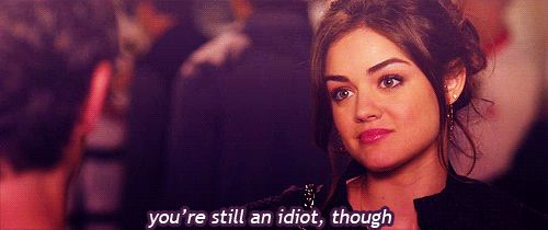 """Pin for Later: Proof That Aria Makes the Best Faces on Pretty Little Liars The """"Sorry, but It's True"""" Source: ABC Family"""