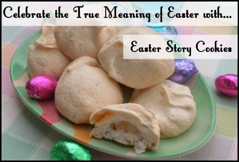 Easter Story Cookies - hands on baking activity while reading along in the Bible