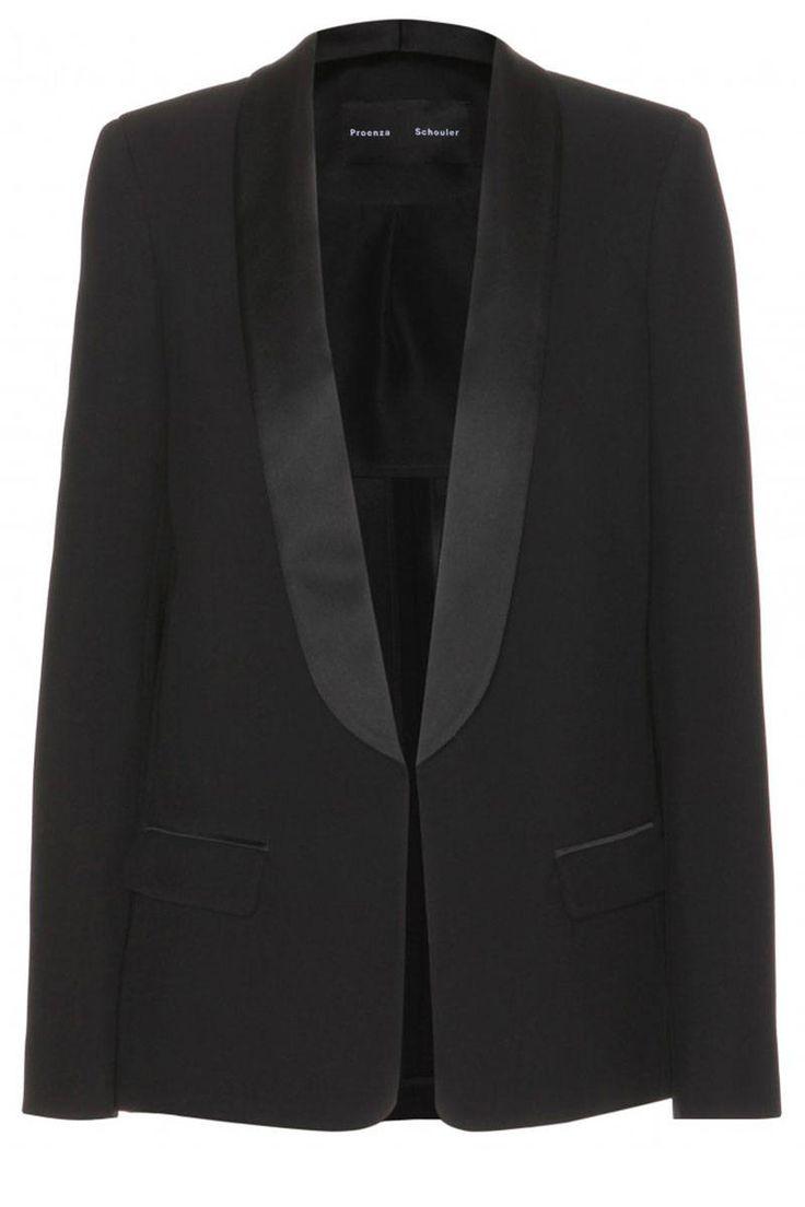 Proenza Schouler blazer, $2,052, mytheresa.com.   - HarpersBAZAAR.com