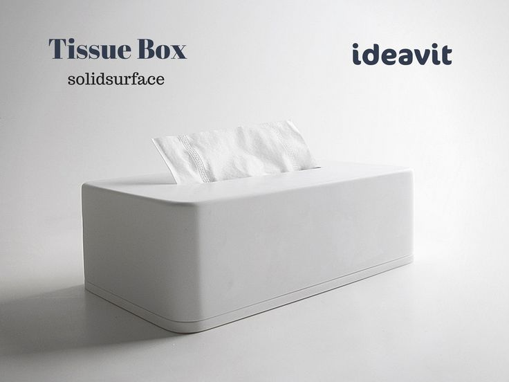 Tissue Box in Solidsurface