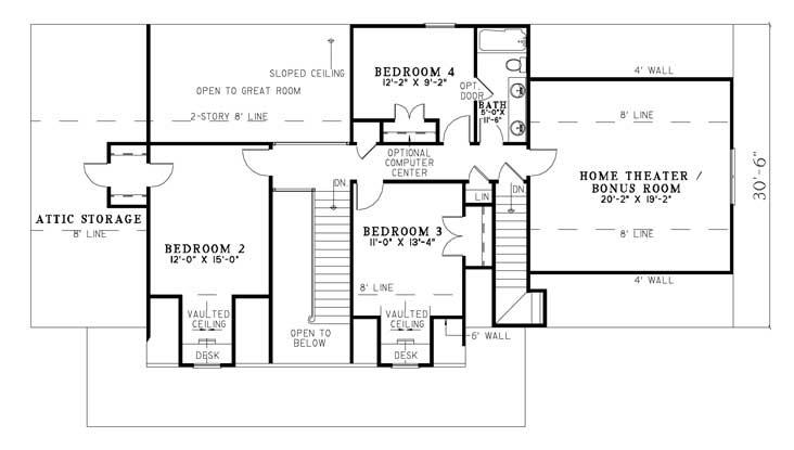 bonus room house plans pinterest