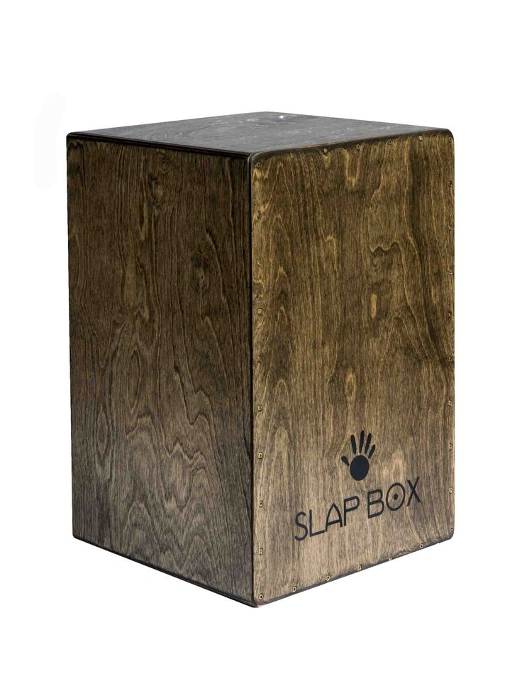 SlapBox Cajon Medium drum with snares Price $450 INC GST nine colour variations available.