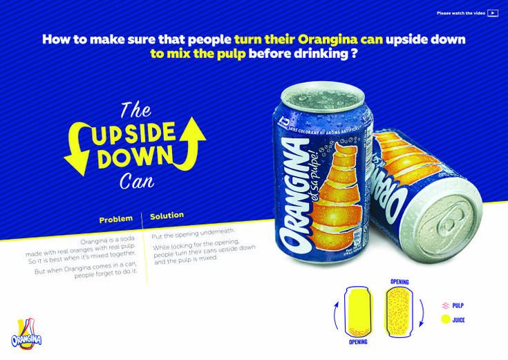 UPSIDE DOWN CAN