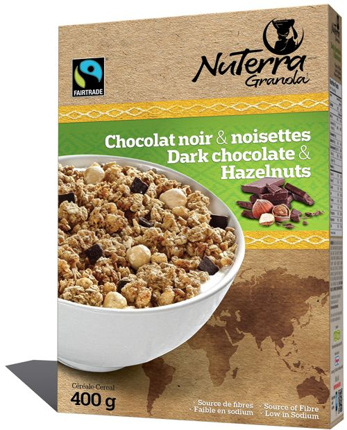 8 Pack – Dark Chocolate & Hazelnuts | NuTerra Cereal