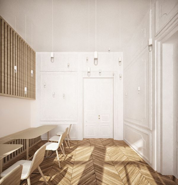 Anker Hostel by Anett Farkas, via Behance