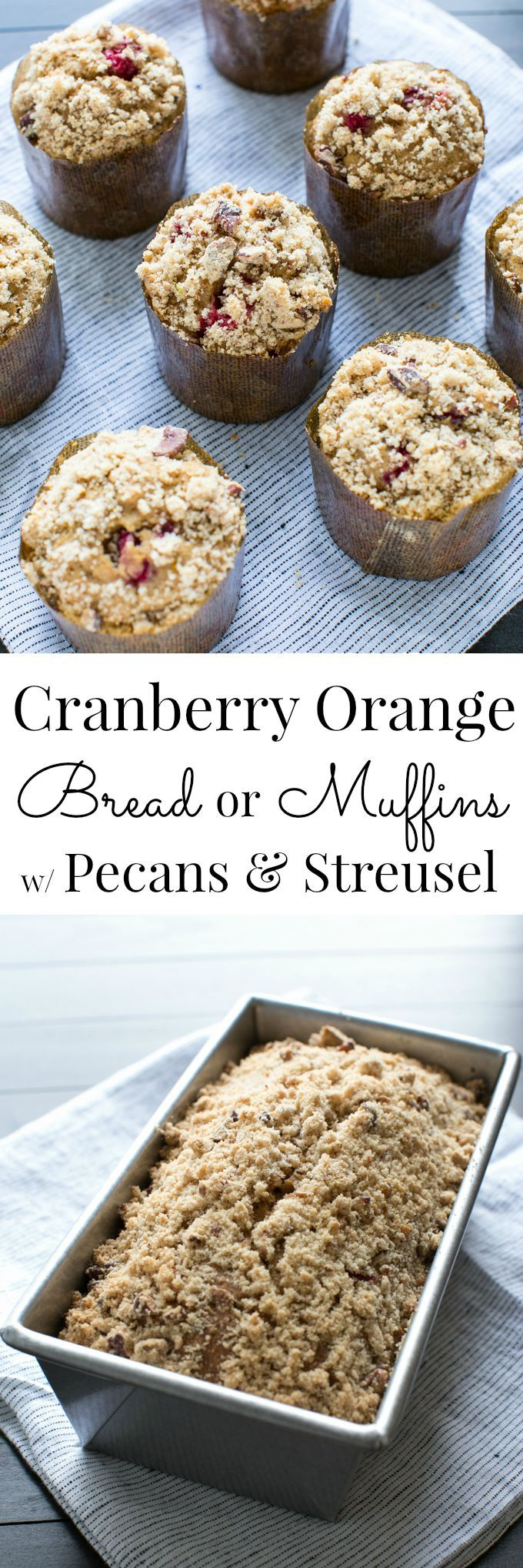 Cranberry Orange Bread with Pecans | Recipe | Beans, Cranberries and ...