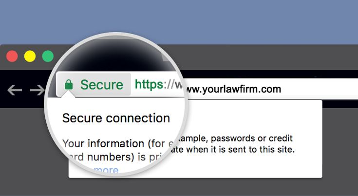 New Secure Website program, a service designed to provide secure hosting for law firms.