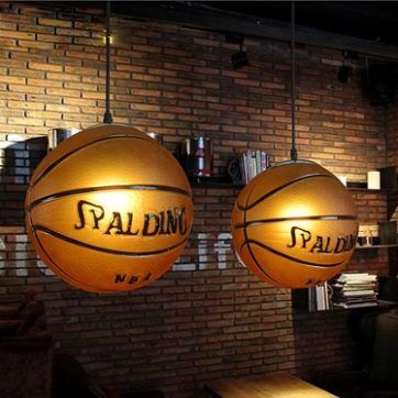 Lámpara de techo baloncesto