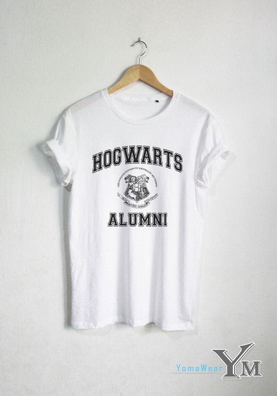 Hogwarts Alumni shirt Harry Potter t shirt Harry by YomaWear