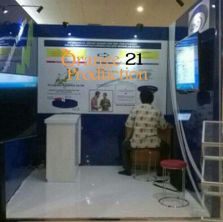 Bpkp booth stand