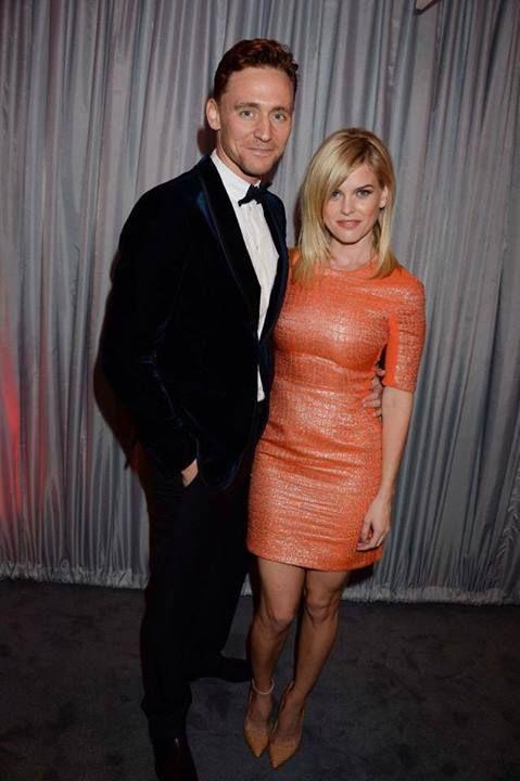 Tom Hiddleston with Alice Eve
