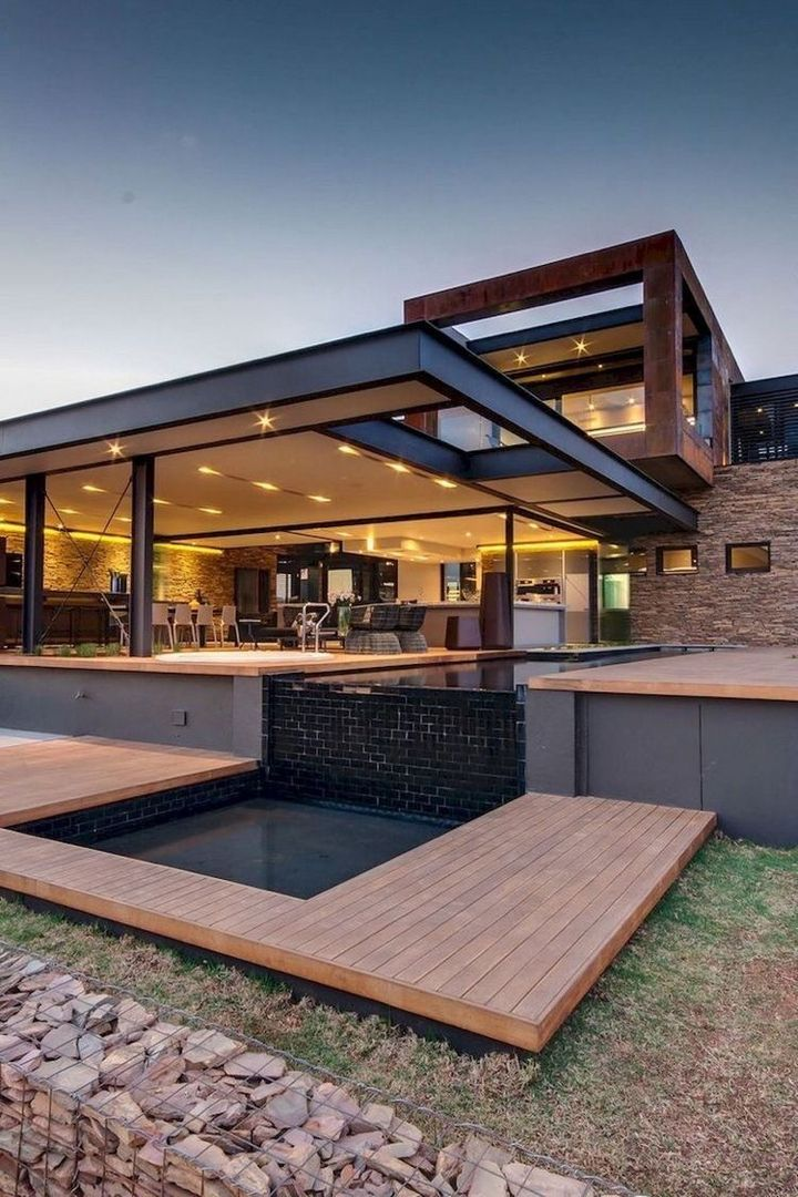 Black Modern Aesthetic Living Room Kitchen Furniture Inspiration Facility Luxury Rich Lifes House Projects Architecture Architecture House Architecture