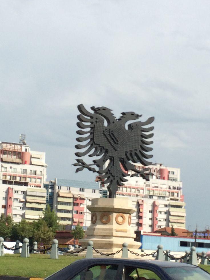 Albán címer