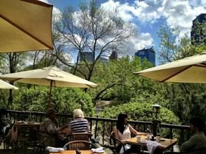 River Cafe on Prince's Island in downtown Calgary