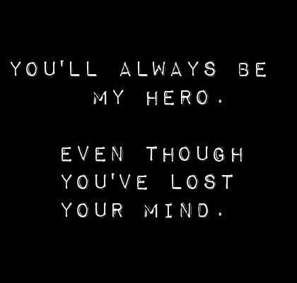 Sounds like something Finnick would say to Annie, except not hero...more like 'beloved' or something.