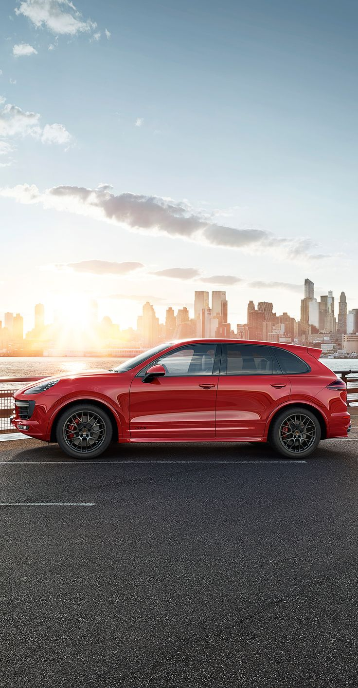 The new cayenne gts makes a clear statement on