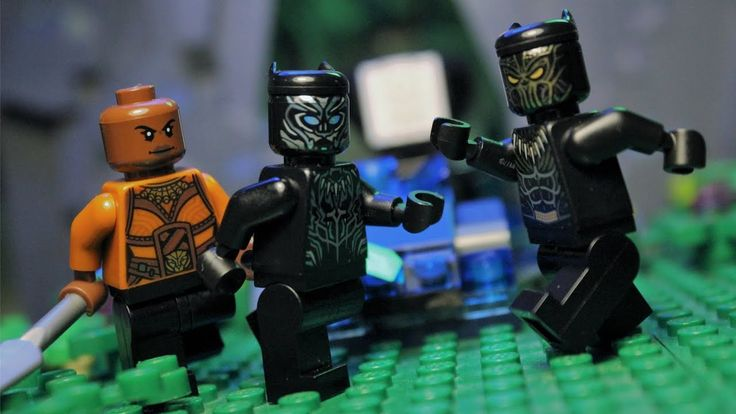 Black Panther stop motion I made with the Lego sets for the movie.