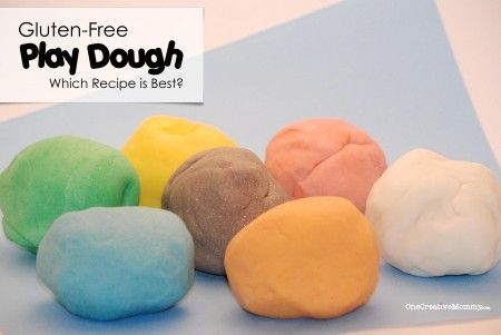 Best DIY Gluten-Free Play Dough Recipes | One Creative Mommy