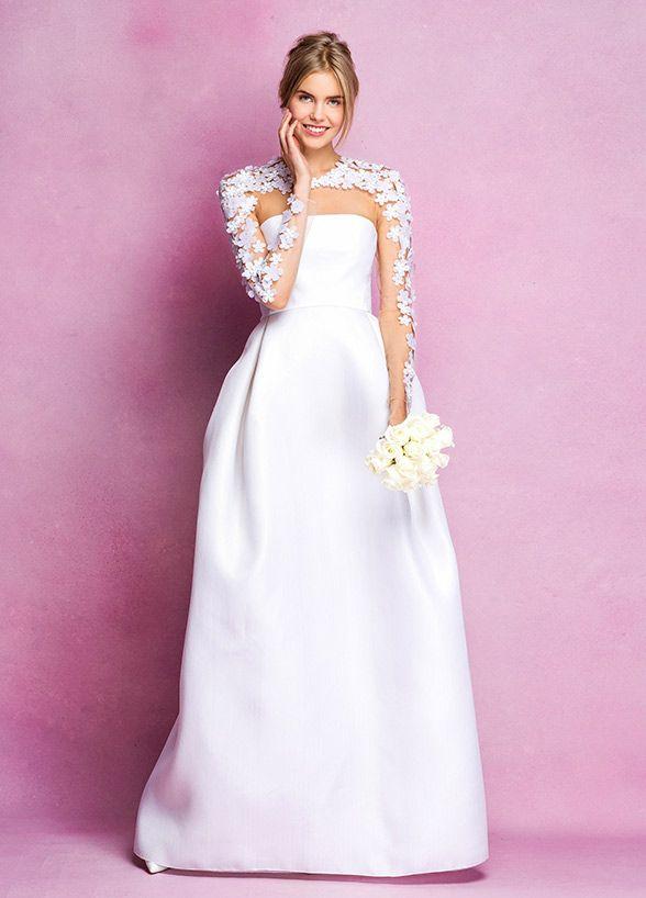 Mejores 486 imágenes de Long Sleeved Wedding Dresses en Pinterest ...