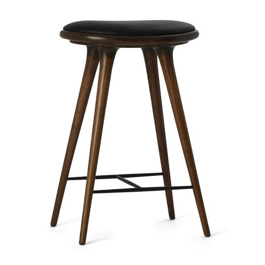 "Mater Ethical Living 26"" High Bar Stool with Cushion 