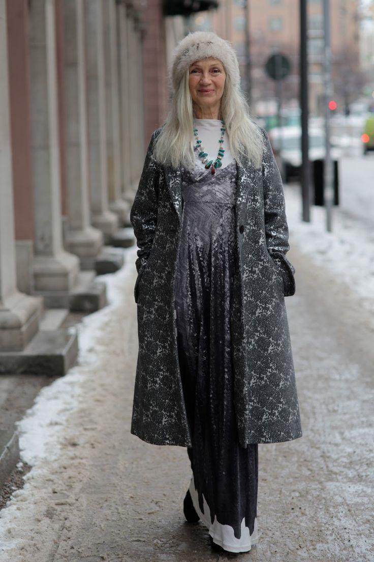 ADVANCED STYLE: Ingmari Lamy, Swedish model