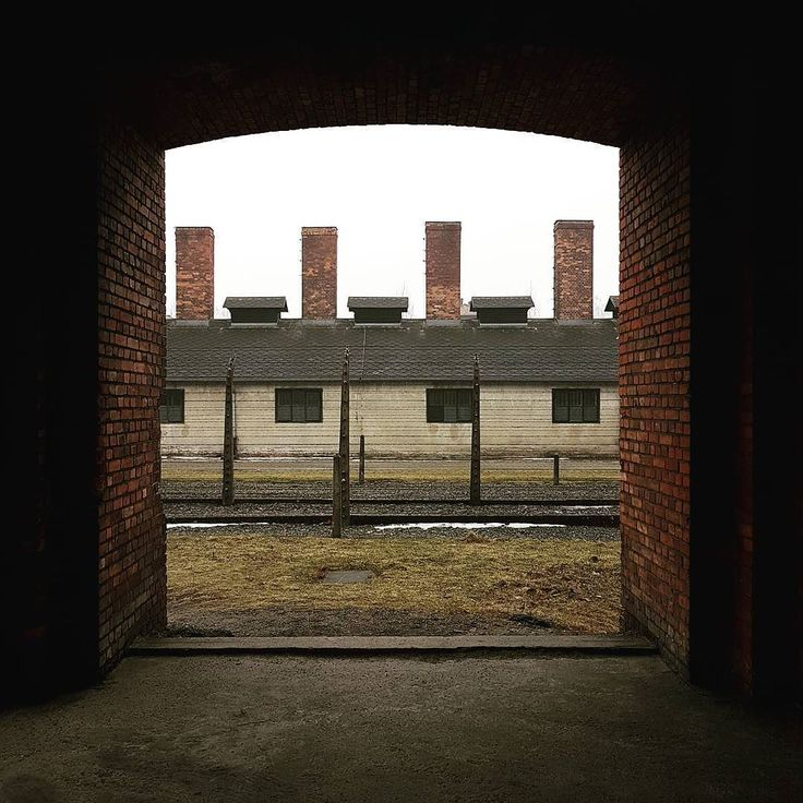 Auschwitz I. The building of the camp kitchen.