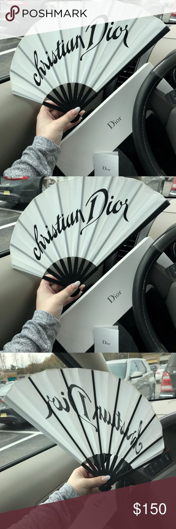Authentic ULTRA RARE John Galliano Dior Geisha Fan Authentic ULTRA RARE John Galliano for Christian Dior Parfums Japanese Geisha Fan. Was originally given out to High End VIP clients as a gift when announcing their new perfume. Folds down - gorgeous to keep in your bag for summer or even as a collectible or decorative piece. Comes in original box with tags. Message for further details photos or offers. Dior Accessories