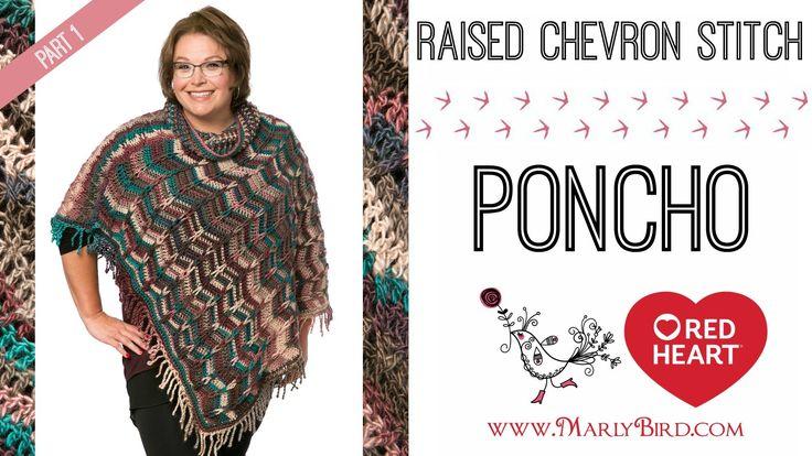 Marly Bird Poncho Crochet-along Section 1