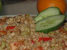(+1) - Что бы съесть на ужин (завтрак, обед)? Перловая каша с луком, сладким перцем и томатом в мультиварке | Любимые рецепты
