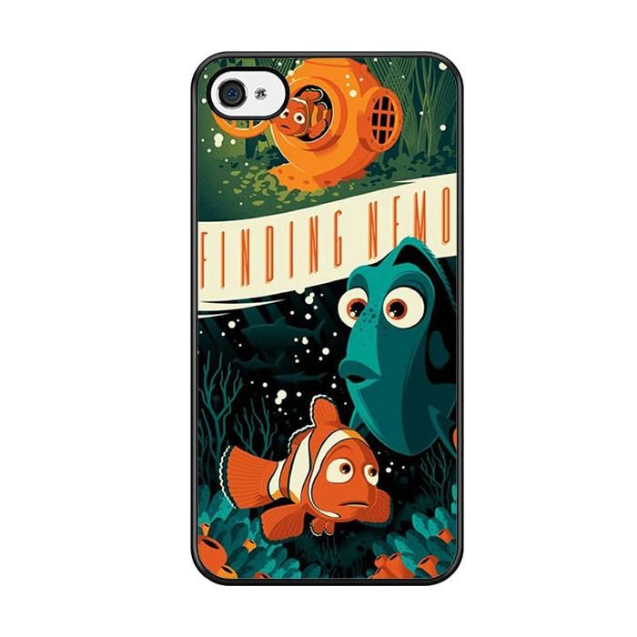 Finding Nemo Vintage Poster Iphone 5 Iphone 5S Iphone SE Case