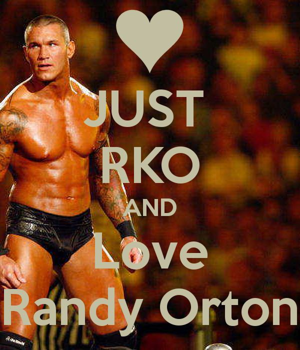 'JUST  RKO AND Love Randy Orton' Poster