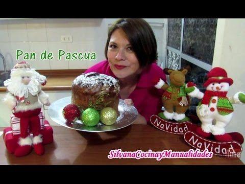 NAVIDAD: PAN DE PASCUA - Silvana Cocina y Manualidades - YouTube