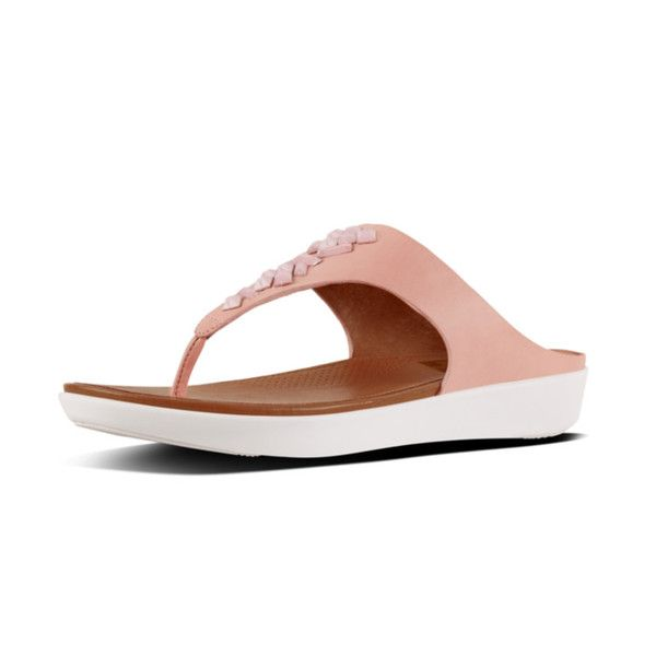 c9997ba200c5d FitFlop Banda II Toe-Thong Sandals in Dusky Pink colour available from  Brandshop UK with