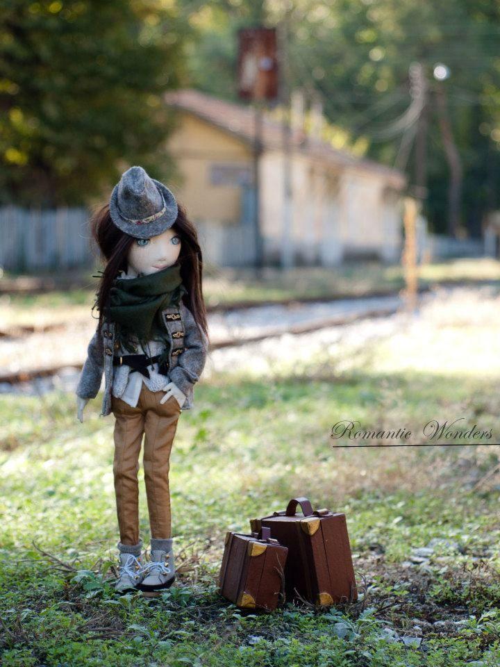 ''Emma'', Handmade ooak doll by Romantic Wonders