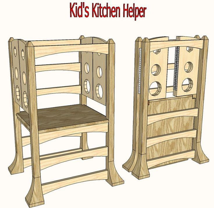 Kitchen Helper Platform